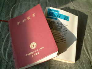 ギデオン協会の新約聖書と岩波文庫の福音書