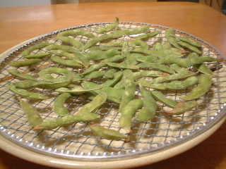 焼き枝豆完成