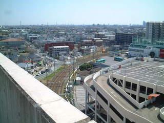 新京成線の京成津田沼駅方向