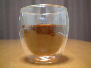 ボダムのダブルウォール保温グラス