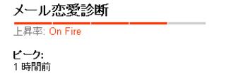 OnFire:メール恋愛診断