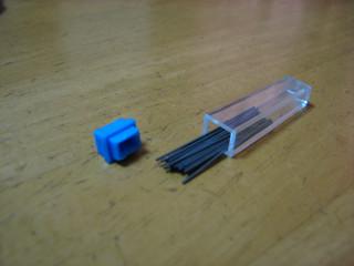ダイソーのシャープペンタイプコンパスの替え芯