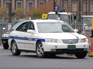 東京を走るヒュンダイの個人タクシー(ウィキペディアより)