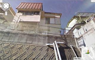吉田博幸容疑者の自宅(ストリートビュー)