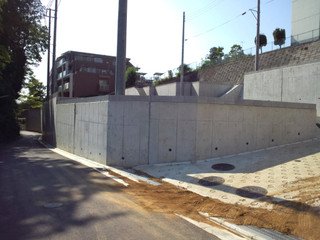 片平1丁目17の住宅造成地