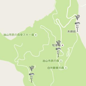 油山市民の森にジムが3箇所(ポケモンGO)