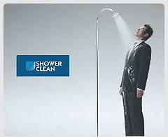スーツを着たままシャワーを浴びる松岡修造