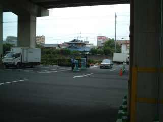 鉄道博物館の駐車場