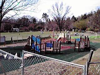 王禅寺ふるさと公園に増設される遊具