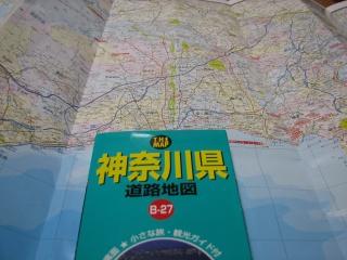 ダイソーの100円道路地図