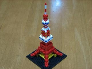 nanoblock製 東京タワー