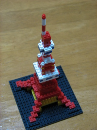 nanoblock東京タワー(カワダオリジナル)