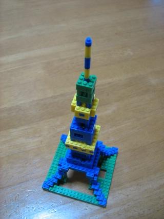 nanoblock東京タワー(改造バージョン)