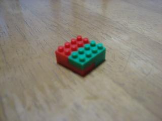 nanoblockで正方形を組む(4×4)