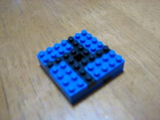 nanoblockで正方形を組む(7×7)
