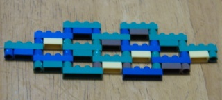ナノブロック可動する組み方(基本形)