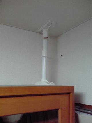 家具固定用耐震つっぱりポール