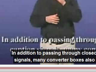 動画に字幕がオーバーレイ表示されるようになった