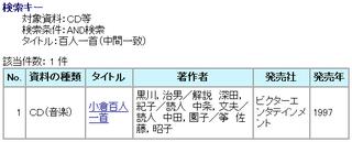 川崎市立図書館に百人一首のCDがありました