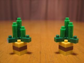 ナノブロック(nanoblock)で作った門松