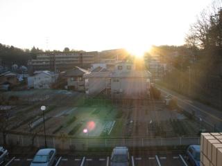 2010年初日の出(川崎市)