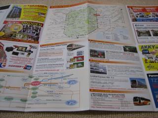 路線図(AKIHABARA GUIDE MAP 秋叶原指南)
