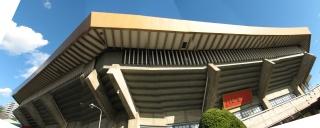 無理矢理パノラマ合成した日本武道館