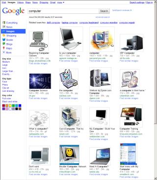 Google Images 旧版
