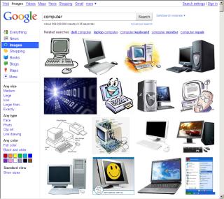 Google Images 新版は1ページが長い