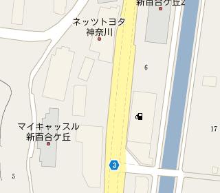 Nicole BMW 新百合ヶ丘支店付近(google map)
