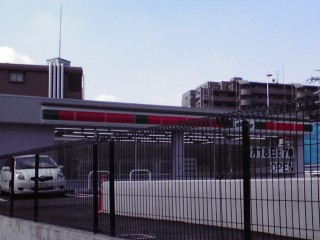 サンクス川崎麻生片平店開店前
