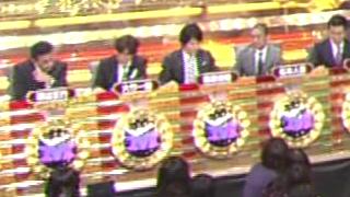 M-1 2010 決勝の投票 戸惑う審査員2