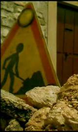フランスの工事中のピクトグラム