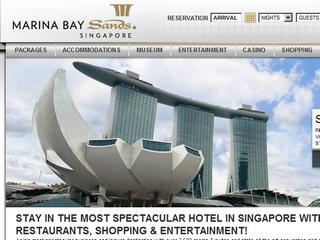マリーナ・ベイ・サンズ(Marina Bay Sands)のサイト