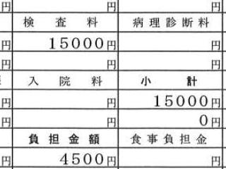 ホルター心電図にかかる費用(検査料)
