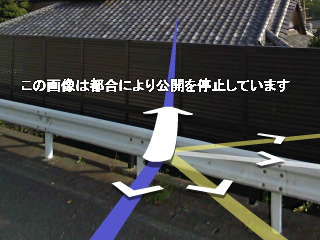 google street view「この画像は都合により公開を停止しています」
