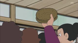 剛田商店ではたわしも売っている