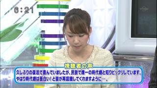 時代劇「おりん」への視聴者の声(テレビ東京「ウォッチ7」)