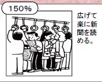 国交省が定める混雑率の基準(150%)
