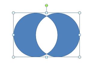 図形の型抜き合成(PowerPoint2010)